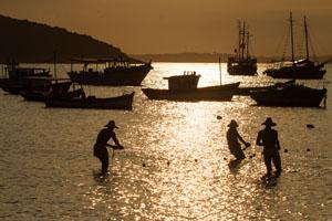 Monumento dos Tres Pescadores