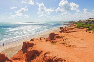 Atividade  Passeio Morro Branco + Praia das Fontes em fortaleza